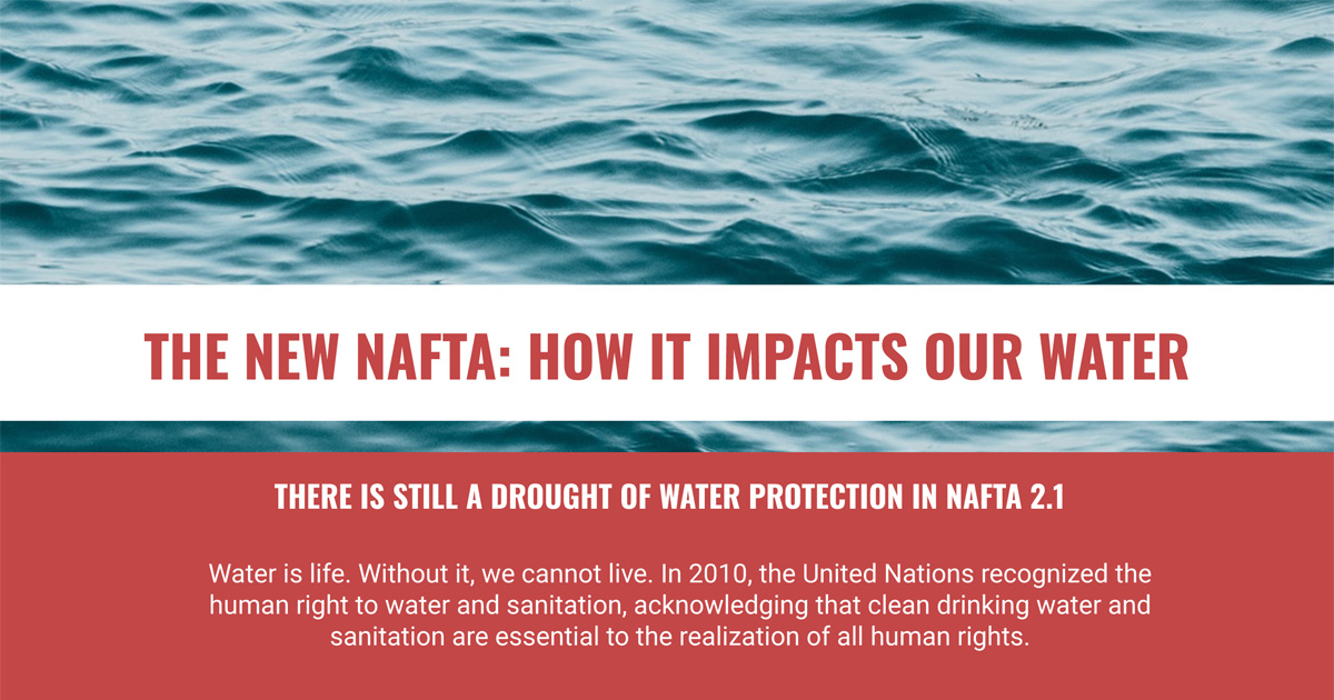 NAFTA and water