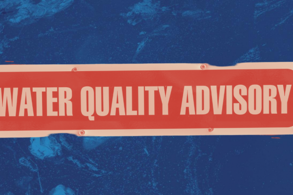Water quality advisory