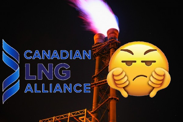 Thumbs down to the Canadian LNG Alliance!