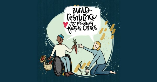 Build resilience tor prevent future crises